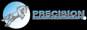 Precision Equine Logo (tradmark, white T