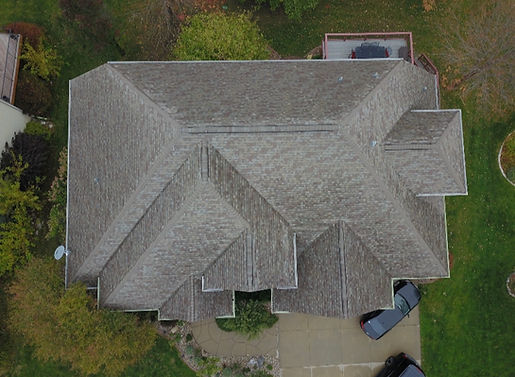 Roof Drone Footage