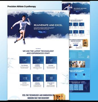 Precision Athlete Webiste