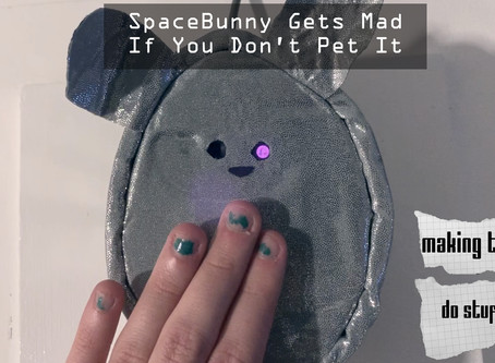 Space Bunny Wants Cuddles