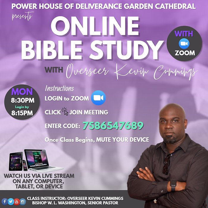 Copy of Bible Class Promo - Made with Po
