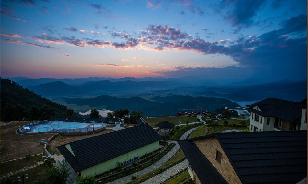 Rupakot Resort - Uitzicht