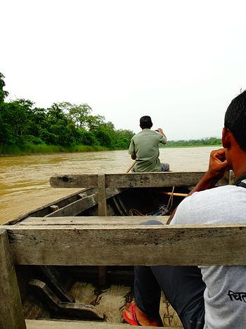Canoe - kanovaren Nepal Traveleers