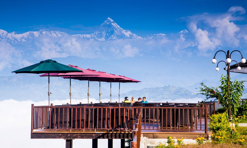 Rupakot Resort - Terras