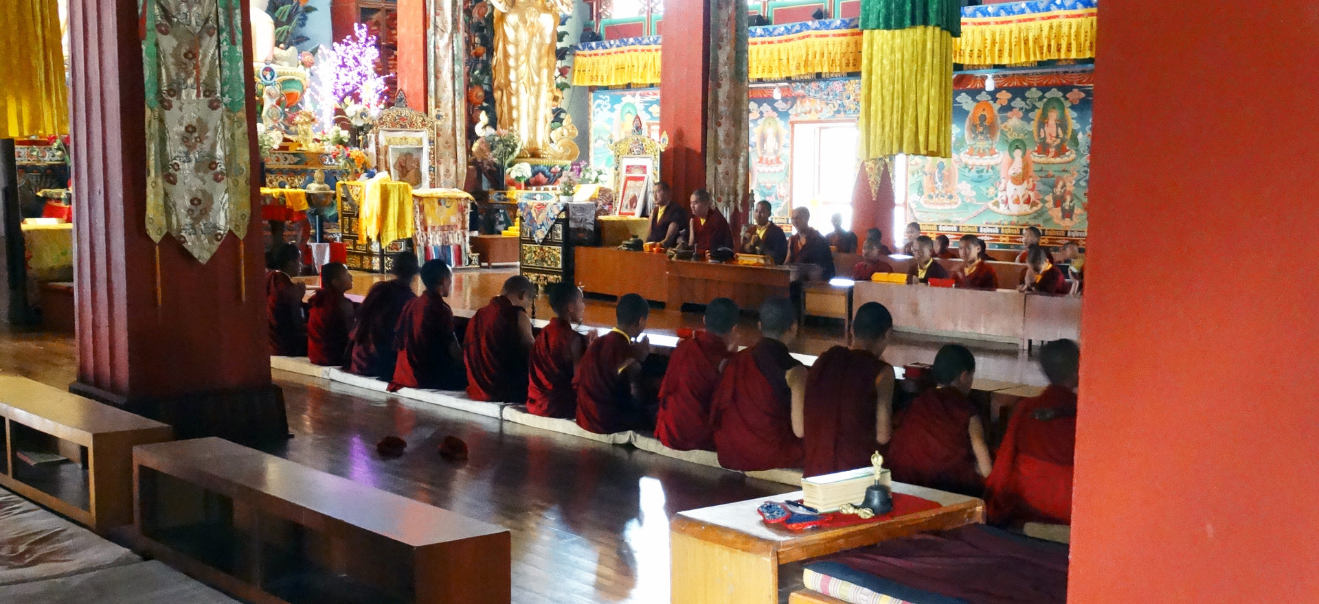 Neydo Monastery - Monikken