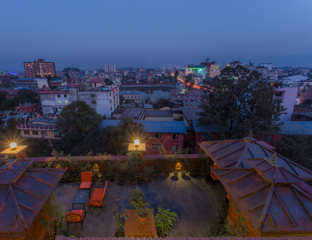 View Rooftop Terrace Traditional Comfort Hotel