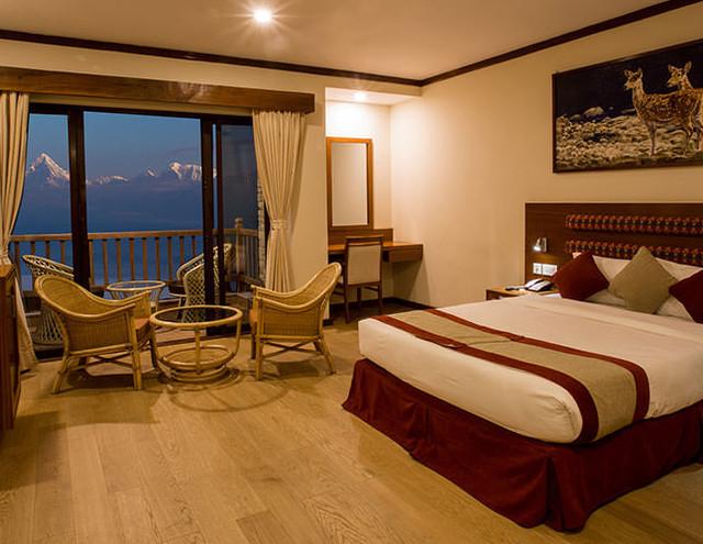 Rupakot Resort - Slaapkamer