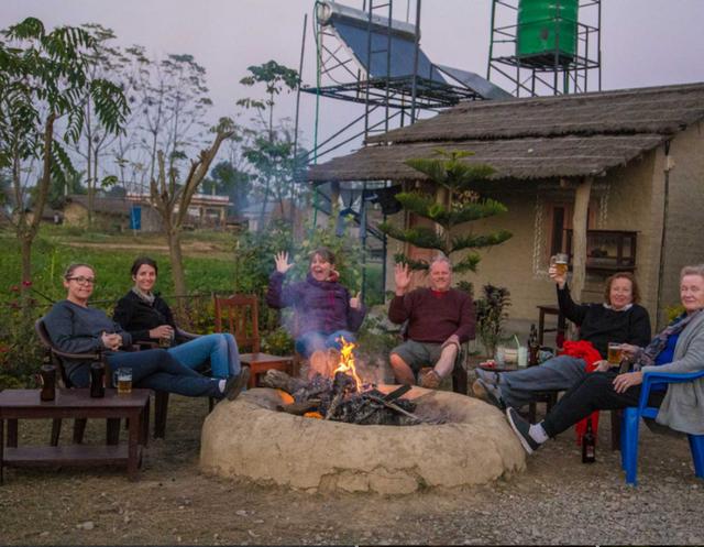 Barauli Community Homestay - Kampvuur