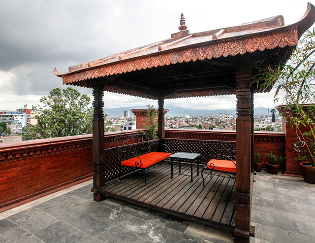 Roof Terrace Traditional Comfort Hotel