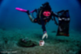 Project Aware Dive Against Debris Travel