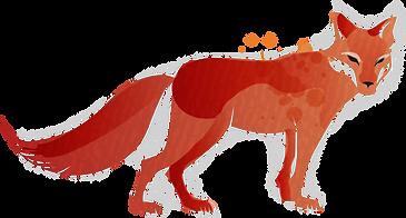 Fox tachée