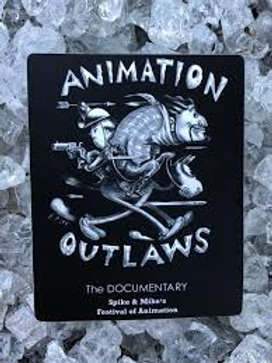 Animation Outlaws Sticker