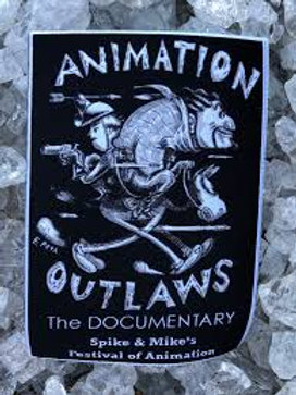 Animation Outlaws Iron-on Patch