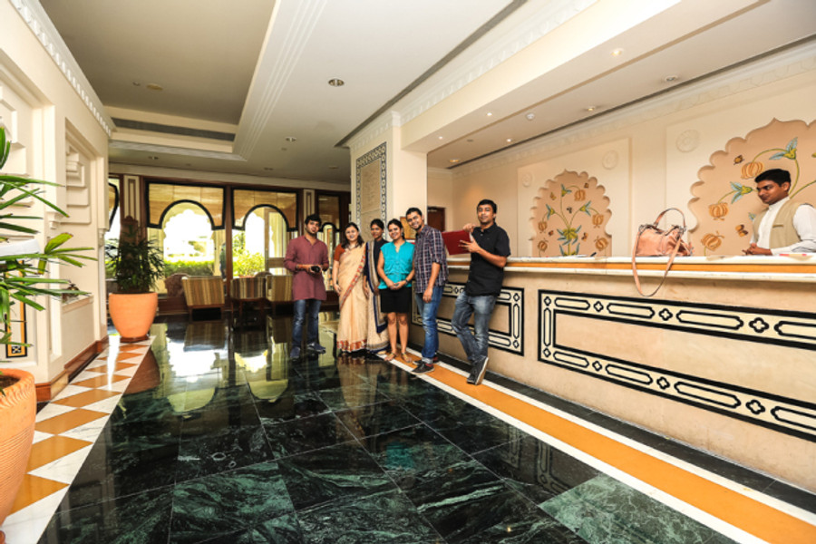 The wonderful staff of Trident Hotel who met our every needs with a lovely smile.