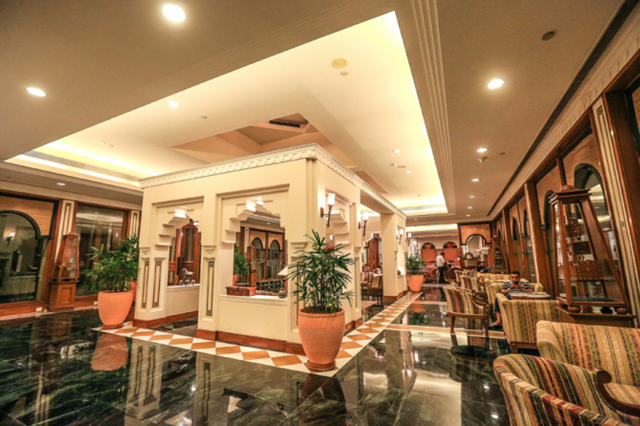 View of the Lobby