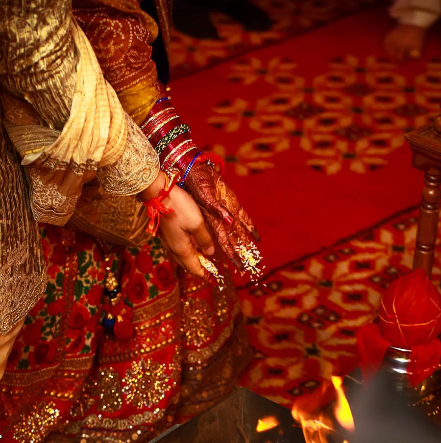 The Mandap ceremony