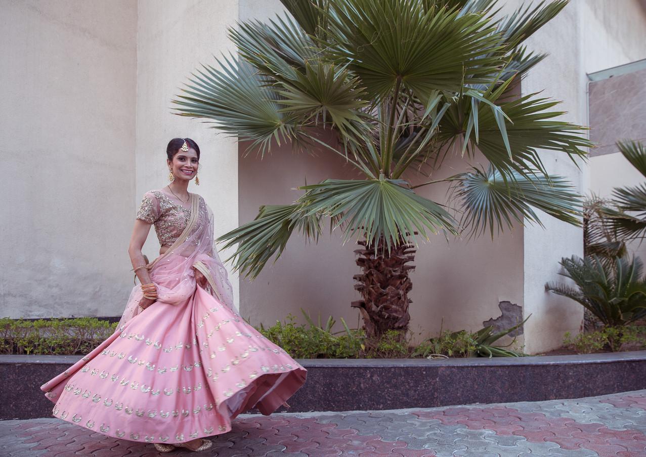Garima on her wedding day