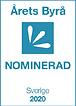 Logo Årets Byrå Sverige 2020