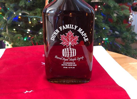 Whiskey Barrel Aged Maine Maple Syrup