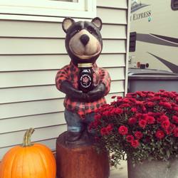 Bears love Maine Maple Syrup