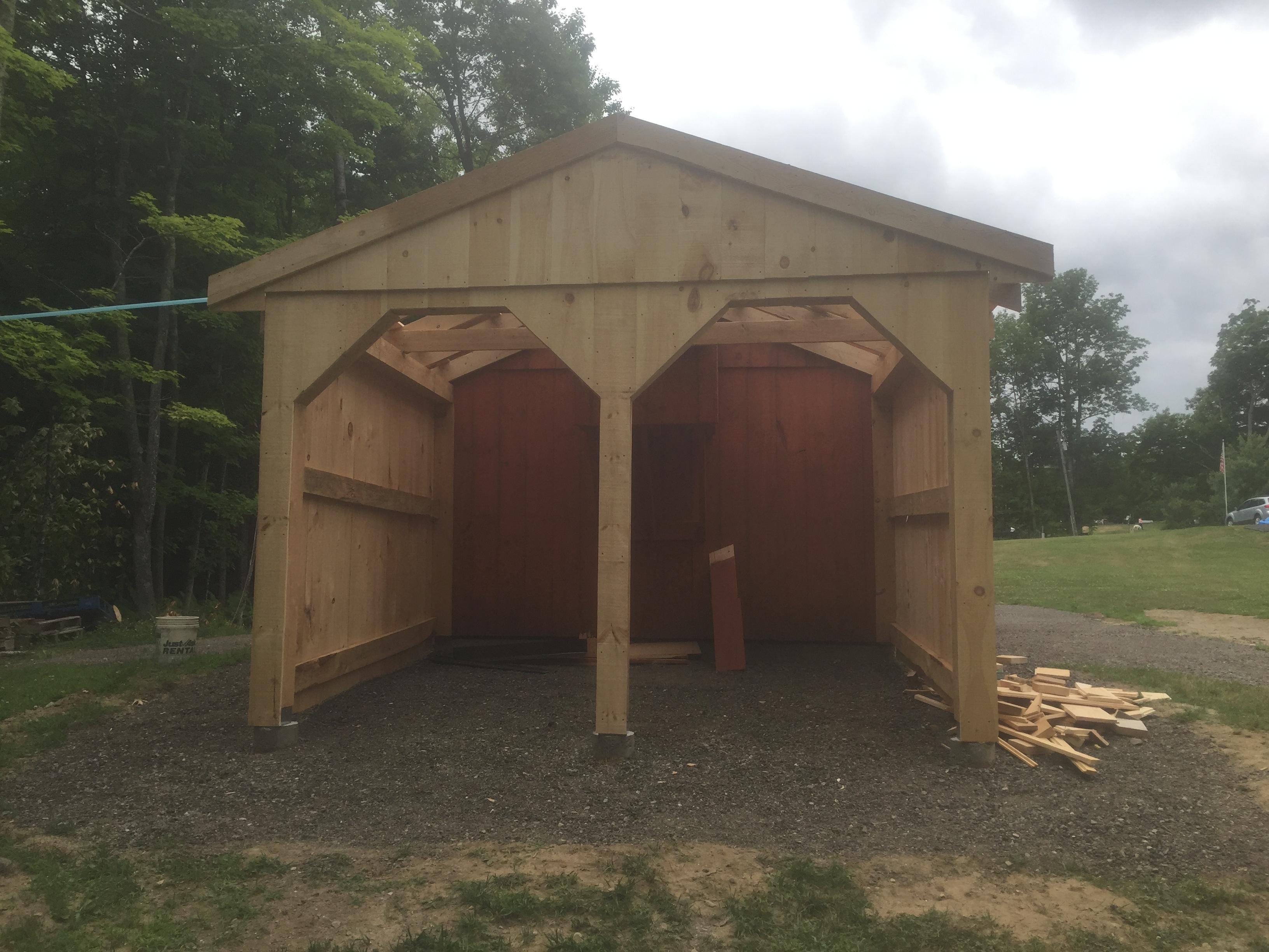 4 wheeler shed