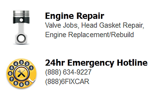 engine repairs, engine services, engine repairs campbell, valve service, head gasket repairs, engine replacements, engine rebuilds