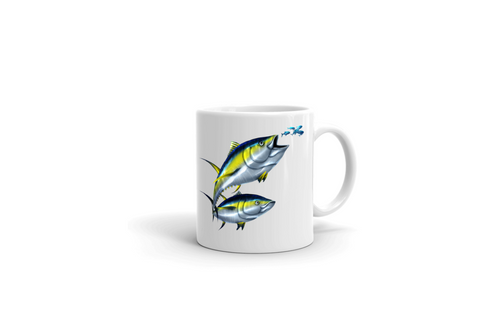 Cup MugLarge Fish Bait From OzWhite Mug Tuna Masters Coffee Club 15 vNnwm0Oy8