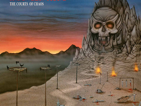 Manilla Road 'The Courts Of Chaos' (High Roller Records)
