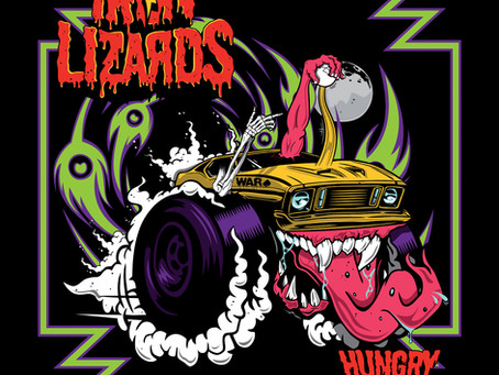 Iron Lizards 'Hungry For Action' (The Sign Records)