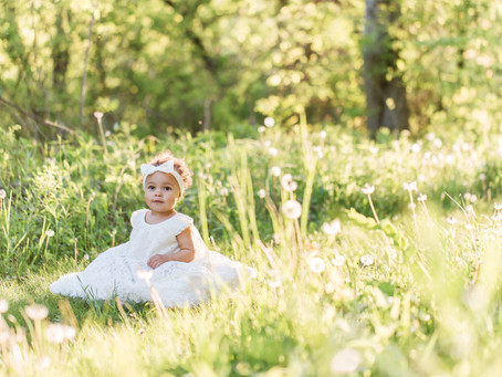 One Year Birthday Session | Mines of Spain | Dubuque, IA