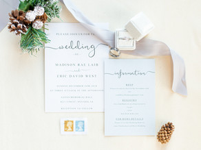 Iowa Winter Wedding | Madison and Eric