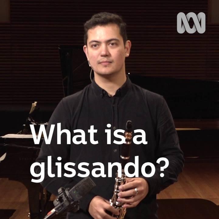 What is a glissando? Lloyd Van't Hoff explains