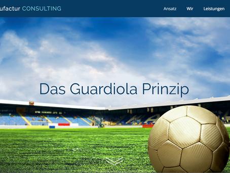 Das Guardiola Prinzip - was hat ein Fussballtrainer mit Führung im Unternehmen am Hut?