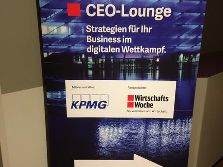 WirtschaftsWoche CEO-Lounge in der Allianzarena: ein Besuch bei fussballbegeisterten Managern in Mün