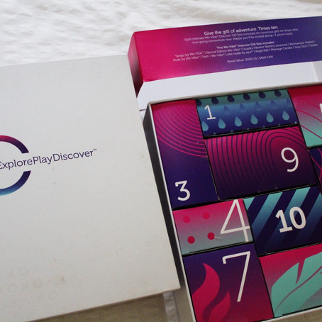 Sex Toy Beginners: WE VIbe discover box