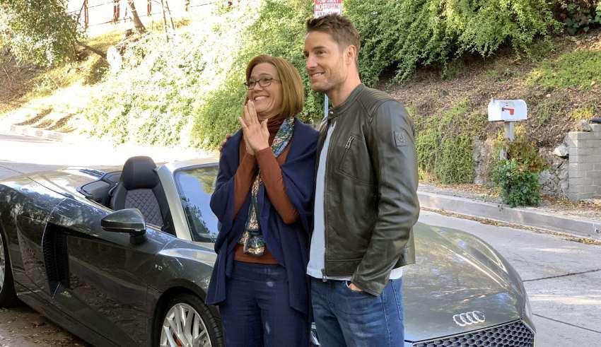 Rebecca e Kevin, no episódio Clouds. (Foto: Reprodução / National Broadcasting Company)