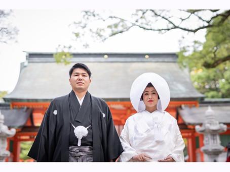 お客様の和婚写真