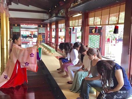 新年最初の神社でお勉強女子会は 史跡巡りです