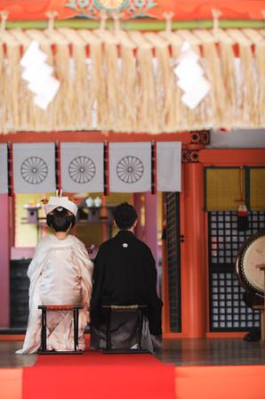 香椎宮で神社挙式