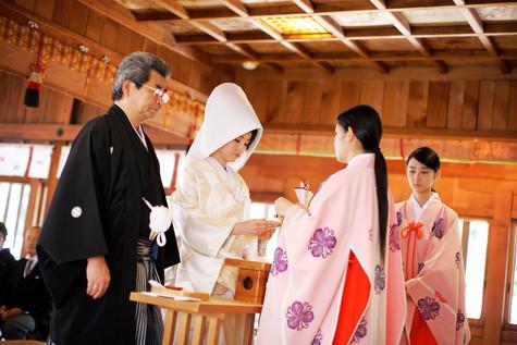 十日恵比須神社で神社挙式