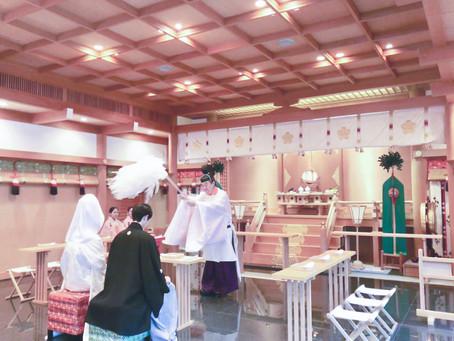 日本の結婚式掲載用撮影