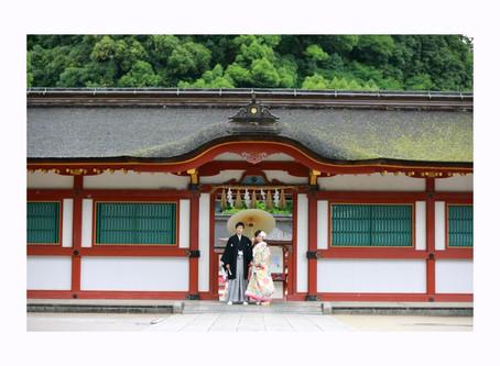 彩鮮やかな日本の結婚式