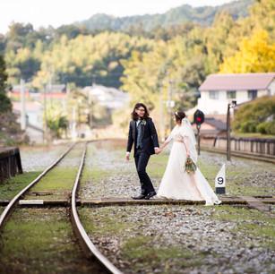 平成筑豊鉄道での写真撮影