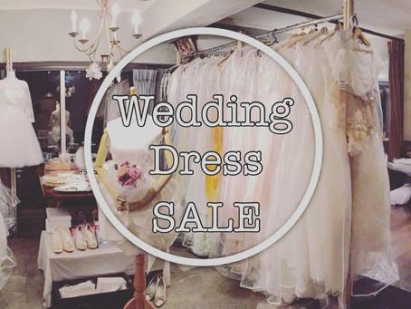 4月6日~9日ウェディングドレス販売
