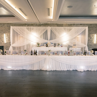 Ballroom Head Table