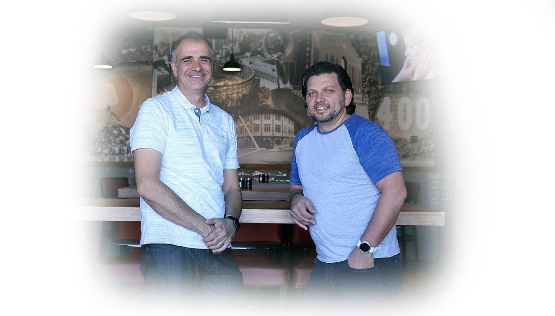 Tony Visca and Fern Colavecchia