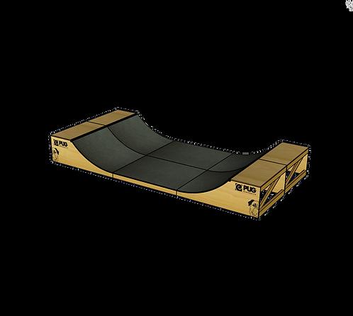 Mini ramp madeira - 240x640x80(cm)