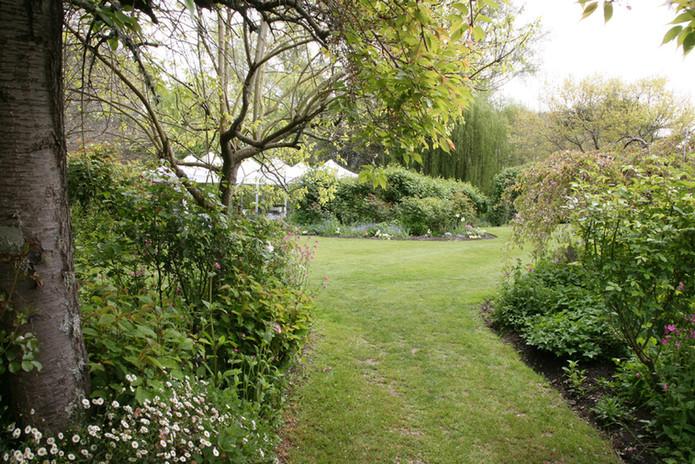 Landing at Homebush, Masterton - Gardens 1
