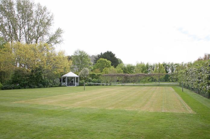 Landing at Homebush, Masterton - Tennis Court