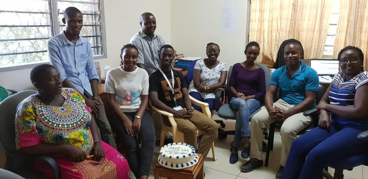 Celebrating the launch of NeuroDEV in Kenya